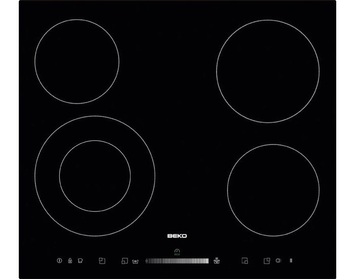 Beko HIC64502T1 60cm Ceramic Electric Cooktop