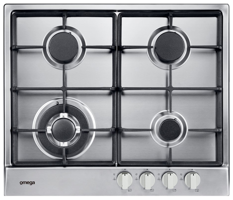 Omega OCG64X 60cm Natural Gas Cooktop