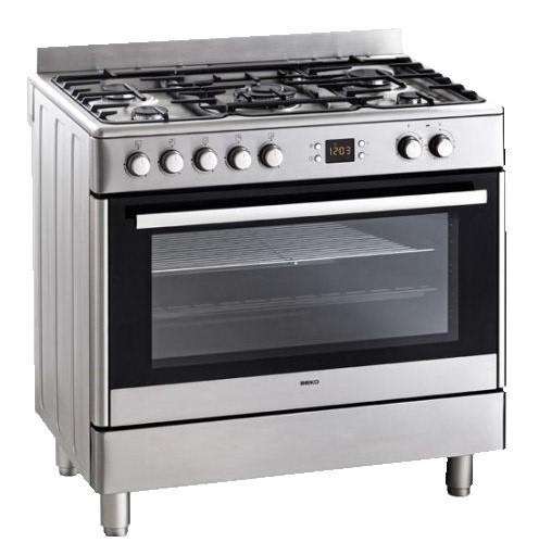 Beko GE15320DX 90cm Freestanding Cooker