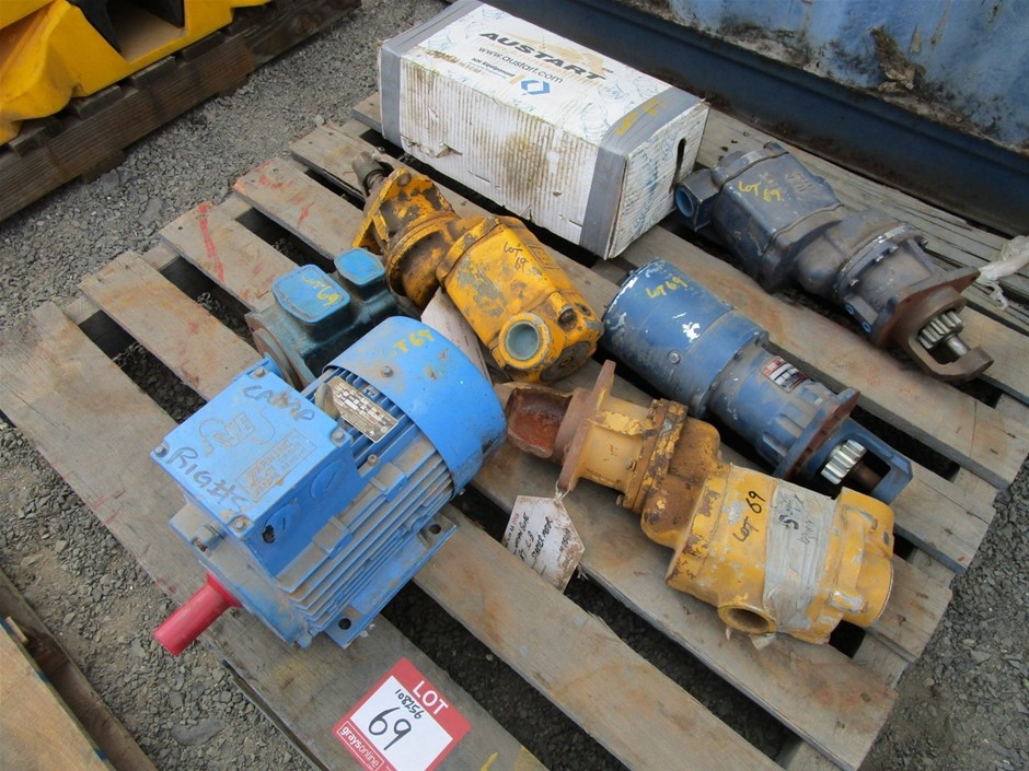 Pneumatic Starters and Electric Motor