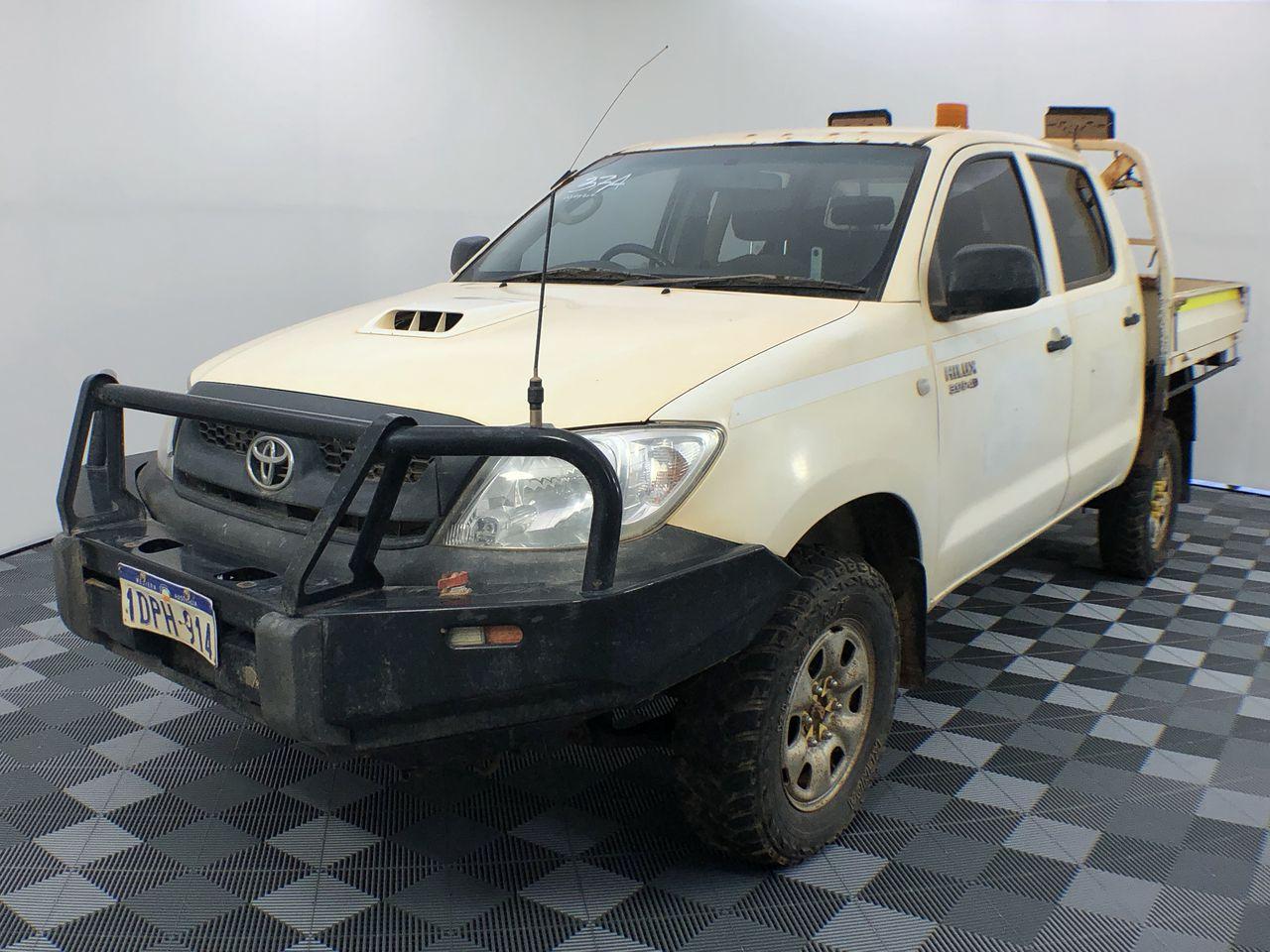 2010 Toyota Hilux SR (4x4) KUN26R Turbo Diesel Manual Dual Cab
