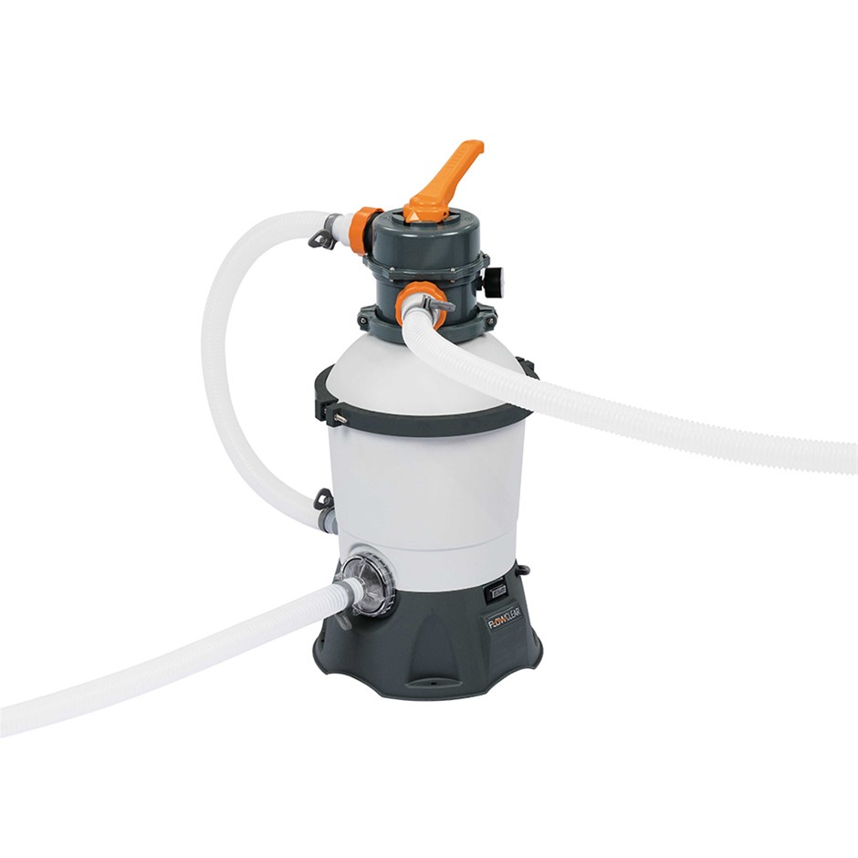 Bestway 530GPH Flowclear™ Filter Swimming Above Ground Pool Cleaning Pump