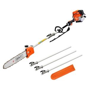 Giantz 4 Stroke Pole Chainsaw Petrol Cha