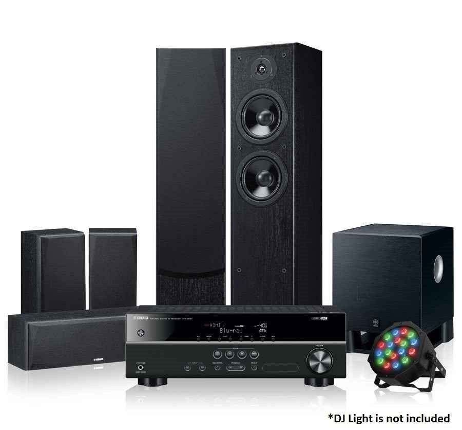 Yamaha LiveSTAGE 6400 5.2CH Home Theatre System (Reconditioned)