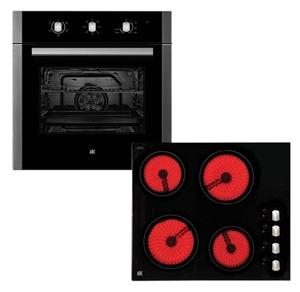 Arc 60cm Electric Oven & 60cm Ceramic Co
