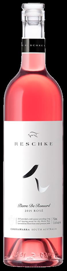Reschke Wines `Pierre de Ronsard` Merlot Rose 2017 (6 x 750mL), Coonawarra.