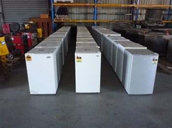 Quantity of Bar Fridges - Various Brands