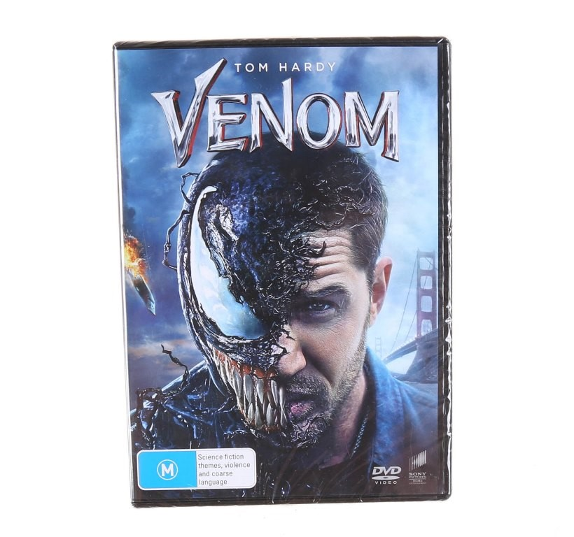 4 x TOM HARDY`S VENOM (2018) DVD`s, Genre: Action, Rated M. Buyers Note - D