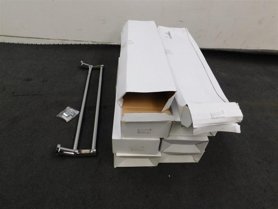 Qty 8 x 8648 Double Rail Towel Bar