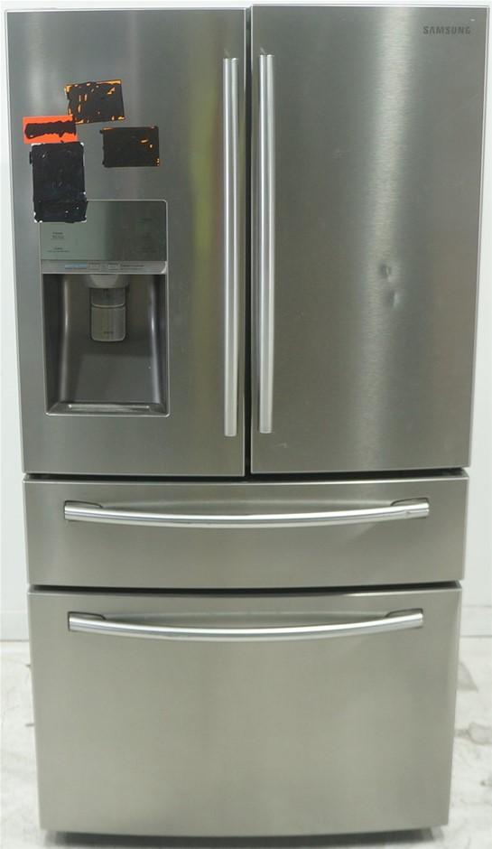 Samsung SRF890SWLS 890L 4 Door Fridge (Silver)