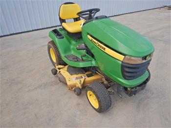 2009 John Deere X320 Ride On Lawn Mower X2