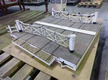 Model Railway Level Crossing
