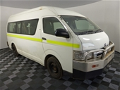 Unreserved Mine Spec Toyota Bus & Holden Utilities - SA