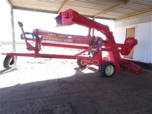 Akron EXG 300 Grain Bag Unloader And Mai