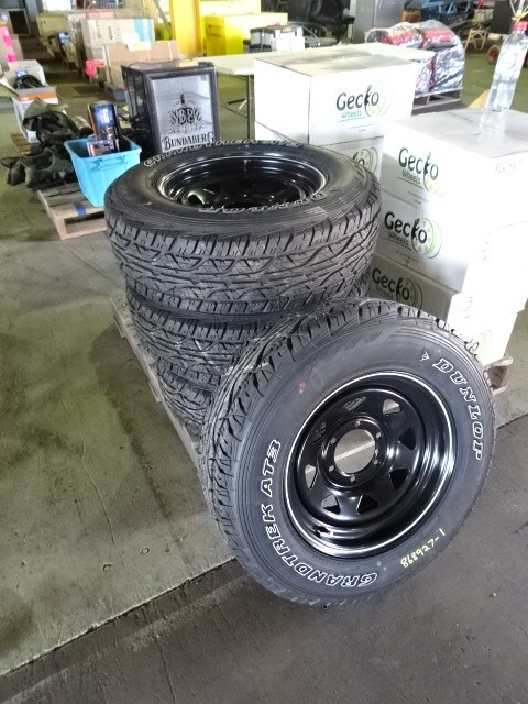 A Set of Rims & Tyres