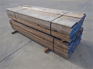 Qty of 2 Packs of Scaffolding Wooden Boa