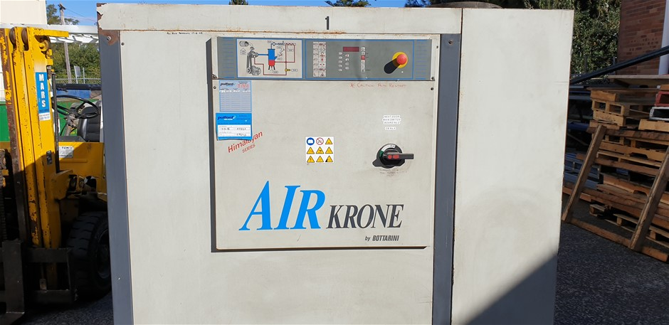 Air-Krone Packaged Silenced Air Compressor Model: KS123 Serial Nu