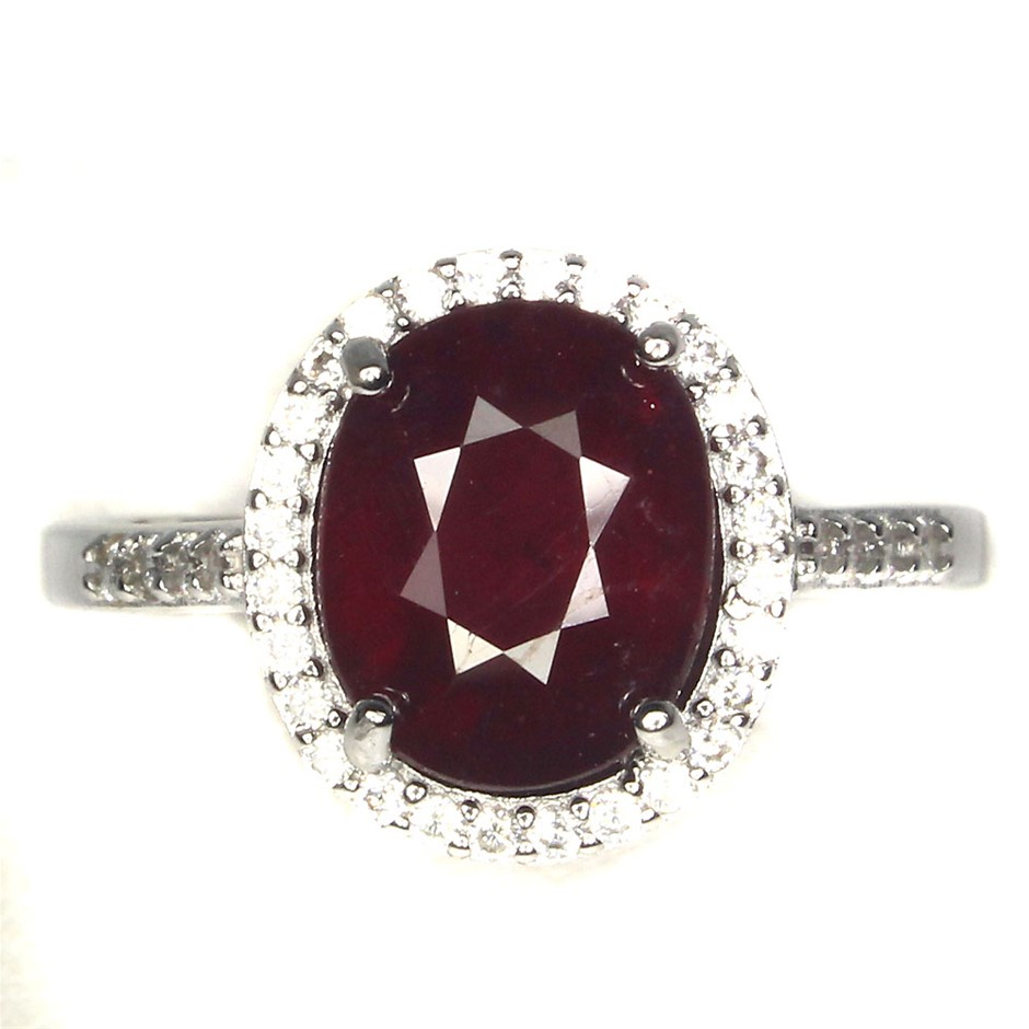 Classic Genuine Ruby Ring
