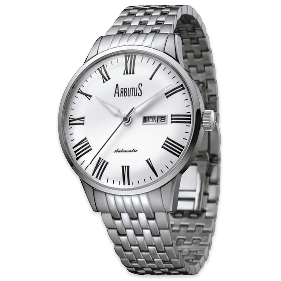 Arbutus New York Automatic watch Steel Day Date