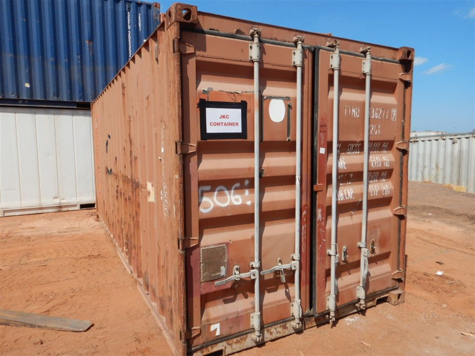 Container, 20 Foot, Standard (B-Type)