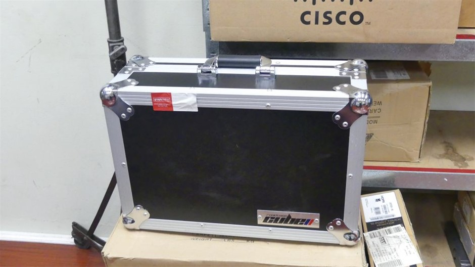 Cube Road Case to suit Mackie Wireless Digital Mixer