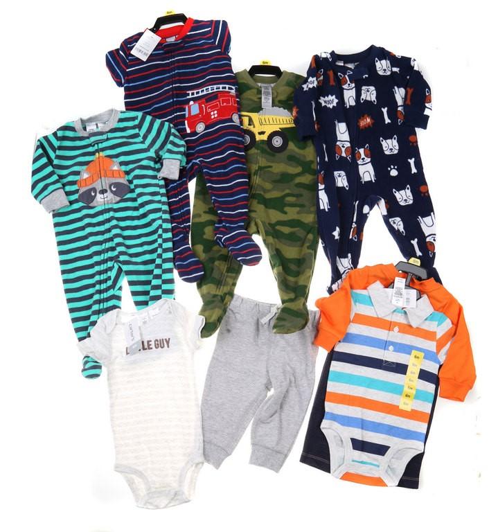 4 Sets x Assorted Boy`s Clothing Set, Size 6M, Incl; CARTER`S Little Guy 2P