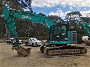 Kobelco SK235SR Hydraulic Excavator
