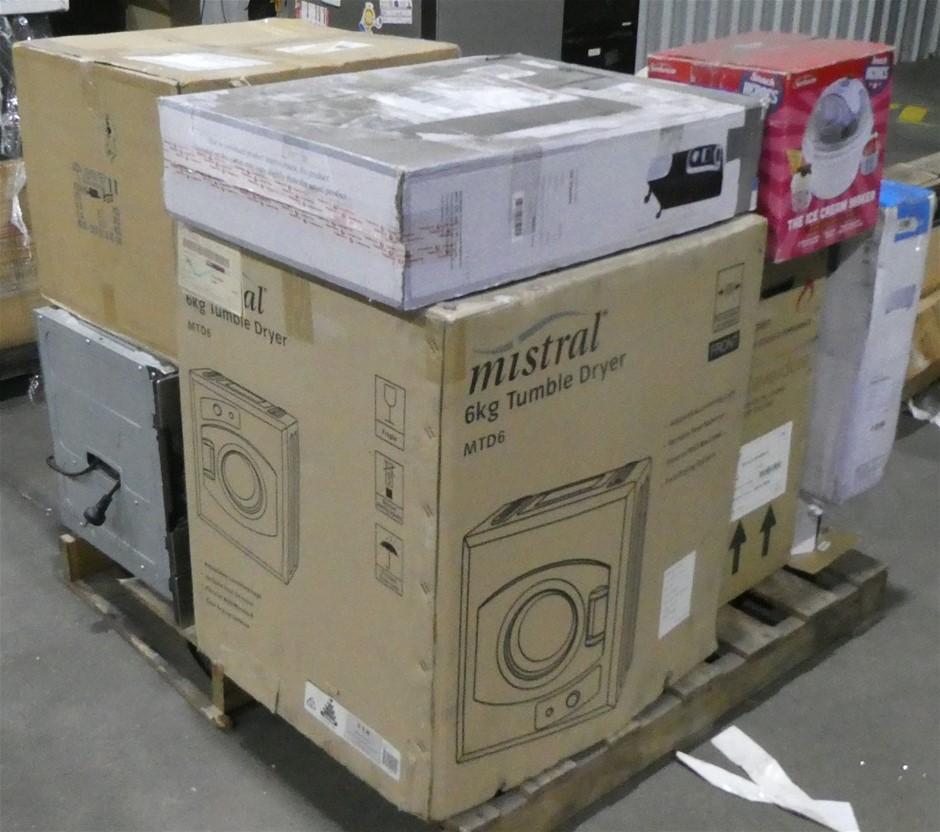 Pallet of Assorted Appliances & Whitegoods
