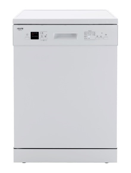 Euro Appliances EDV606WH- 60cm Freestanding Dishwasher