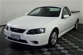 Unreserved 2007 Ford Falcon XLS (LPG) BF MKII Auto Ute