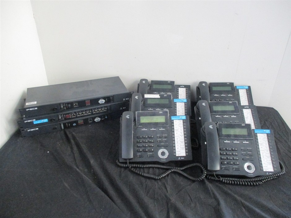LG/Ericsson IPECS MFIM50A Phone System