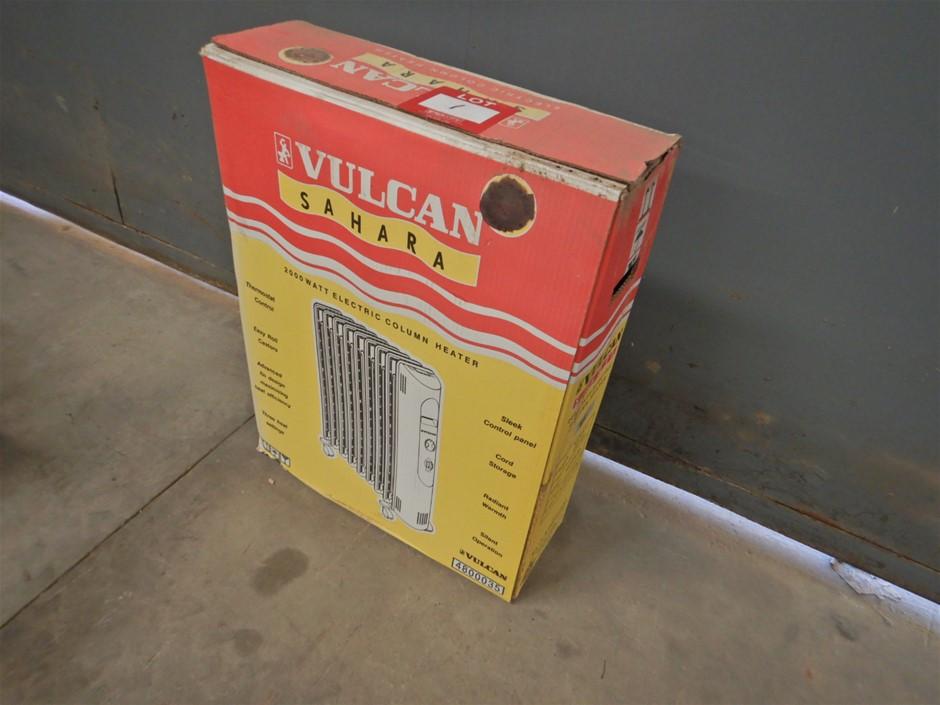 Sahara Vulcan 2000watt Electric Column Heater (Gepps Cross, SA)