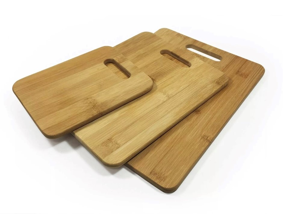 Bamboo Choppping Boards - Set of 3