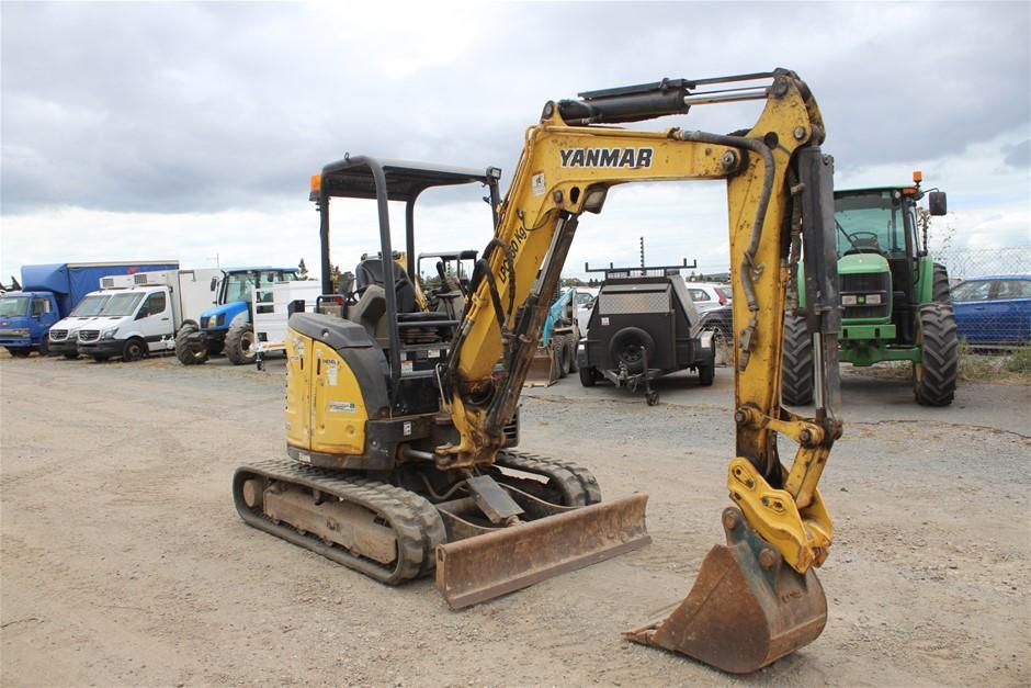 Yanmar Vi035-6B Hydraulic Excavator