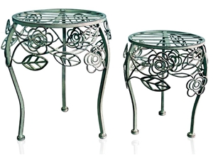 NU80625 Low Plant Stand (set of 4 - 2 x