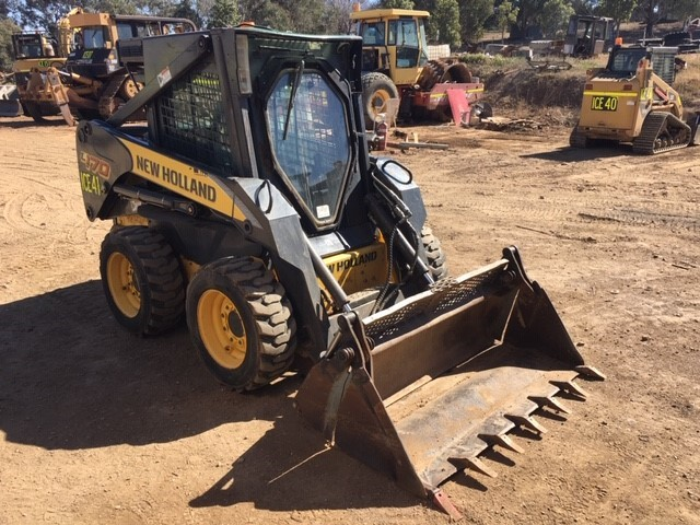 New Holland L170 Skid Steer Loader