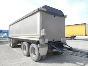 2009 Hercules HEDT-4 Quad Tipper Trailer