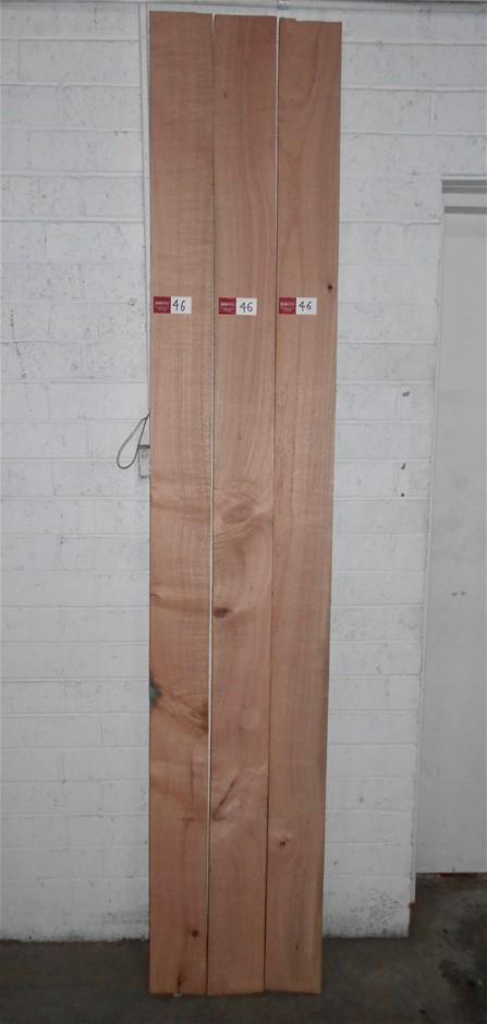 Board pack (3 boards) - Silky Oak