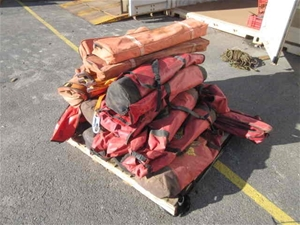 Pallet of Rescue Equipment