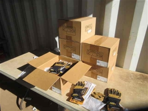 6x Cartons of Safety Gloves