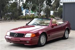 1990 Mercedes Benz SL500 Auto Convertibl