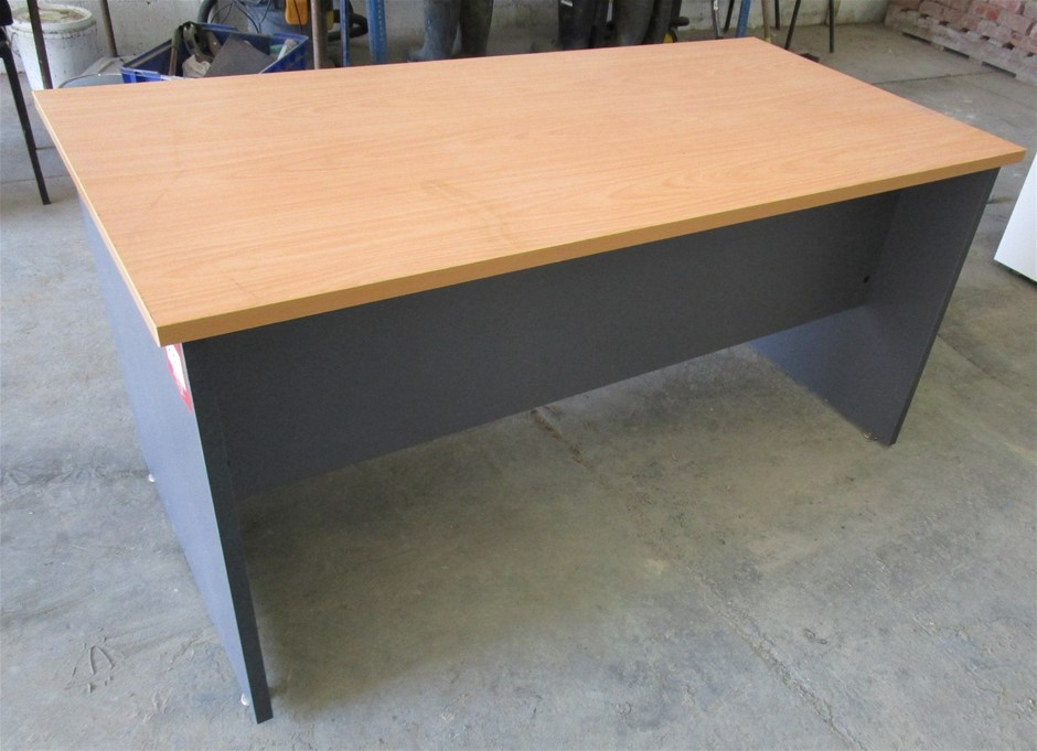 Laminex Timber Office Desk