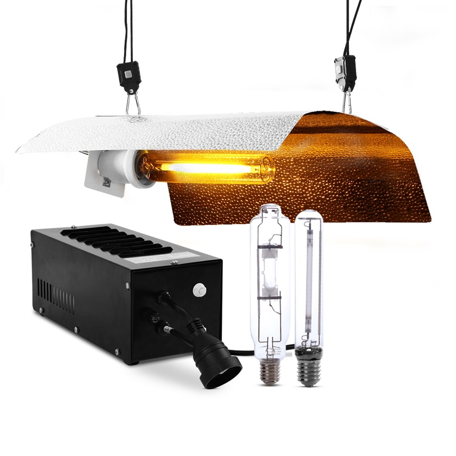 Greenfingers 400W HPS MH Grow Light Kit Reflector Hydroponic Grow System