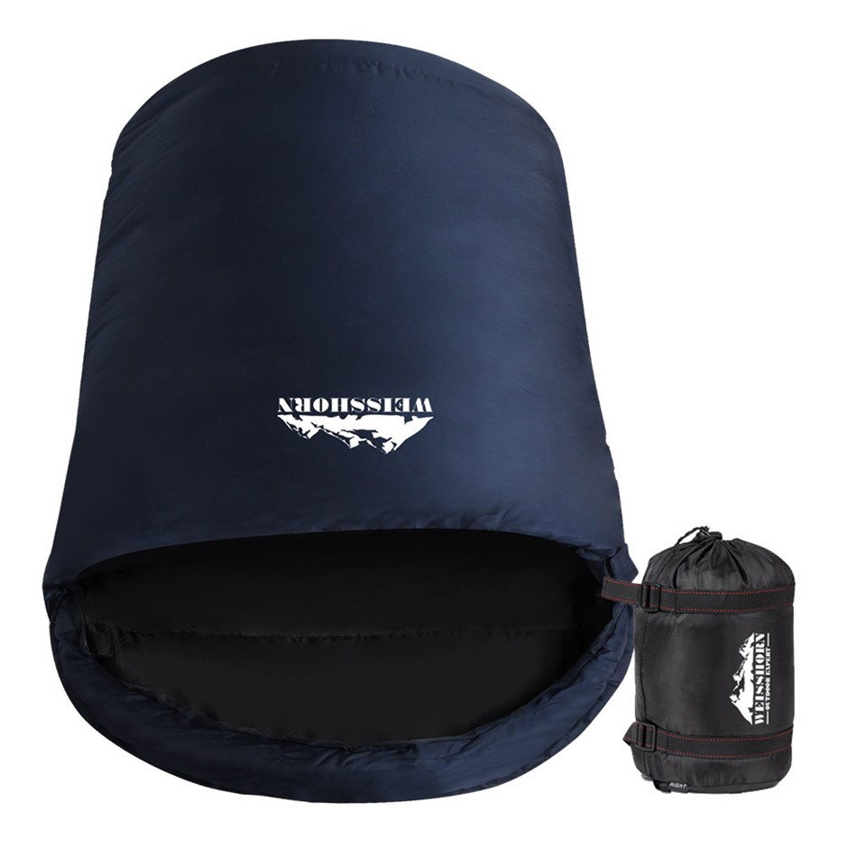 Weisshorn Sleeping Bag Single XL Camping Hiking -15°C Tent Winter Thermal