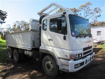 2007 Mitsubishi Fuso FV500 6x4 Tipper Truck