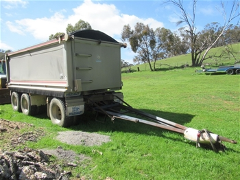 2005 Hercules HEDT-3 Triaxle Dog Tipper Trailer