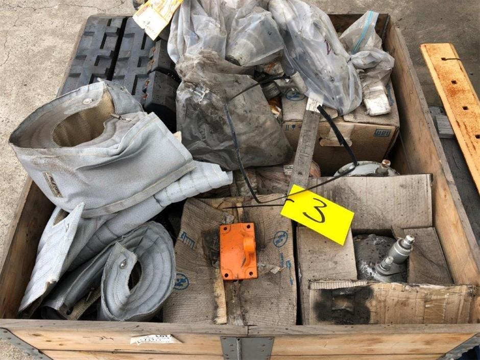 Misc Electric Motors , Heat Wrap , Nozzles , Rubber Blocks (266046-3)