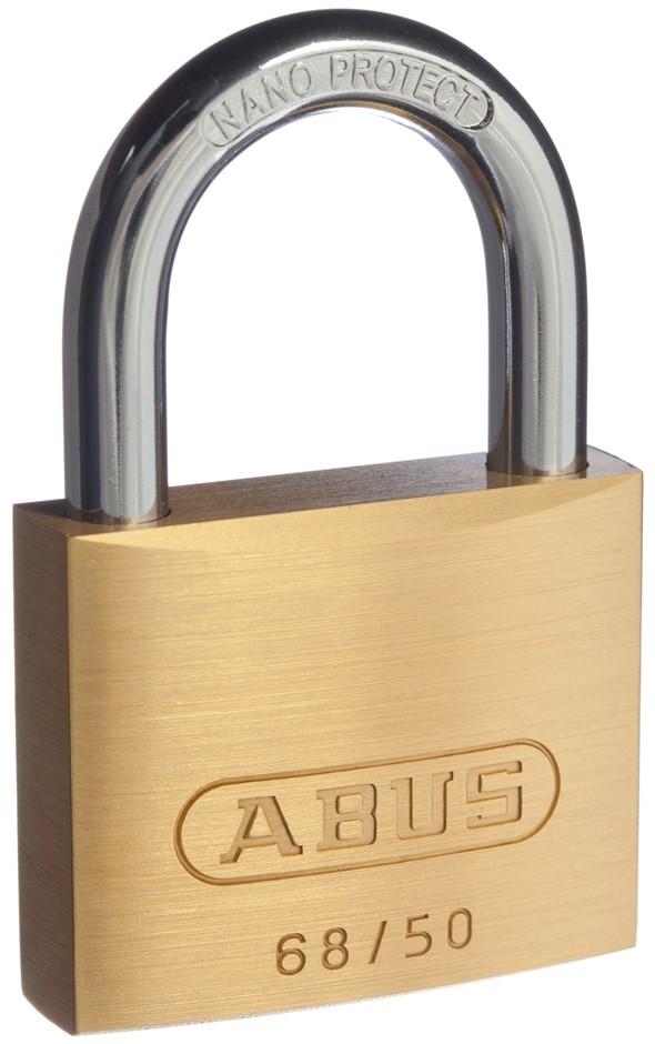 (4 Pack) ABUS Padlock 68/50 KD DP - 6850C