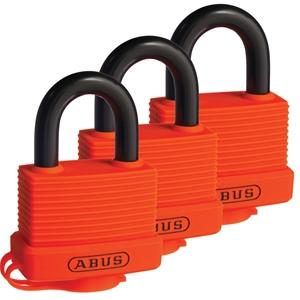 (3 Pack) ABUS Padlock 70AL/45 DP RESCUE