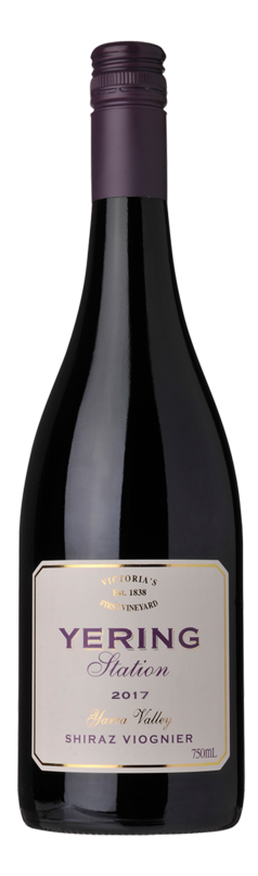 Yering Station Village Shiraz Viognier 2017 (6 x 750mL), VIC.